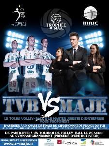 Trophée du MAJE - TVB vs MAJE