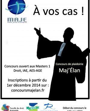 Concours Maj'Élan 2015