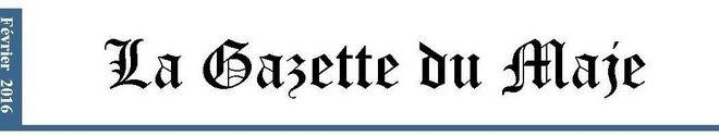 Gazette du MAJE n°2 - Février 2016