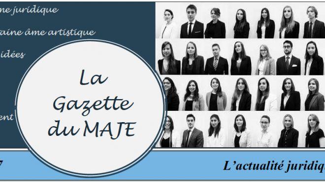Gazette du MAJE n°5 - Février 2017