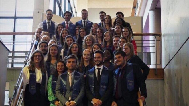 Remise des diplômes de la promotion MAJE 2018-2019